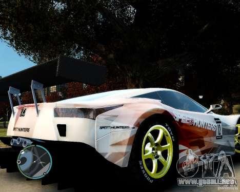 Lexus LFA Speedhunters Edition para GTA 4 visión correcta
