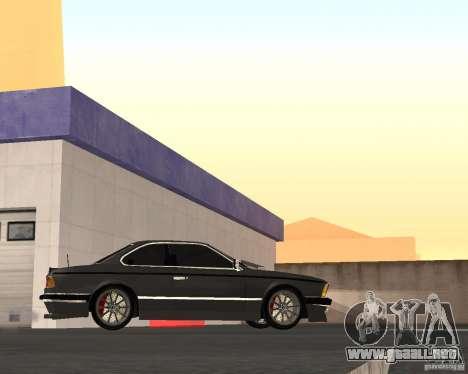 BMW M6 E24 para la visión correcta GTA San Andreas