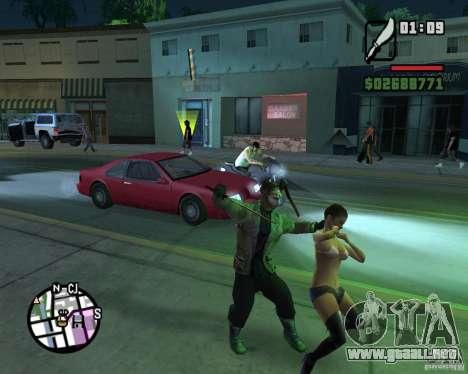 Jason Voorhees para GTA San Andreas quinta pantalla