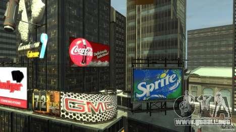 Time Square Mod para GTA 4 quinta pantalla