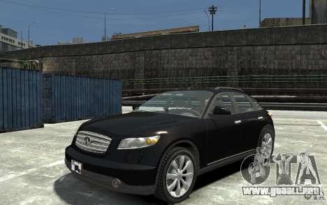 Infiniti FX45 para GTA 4