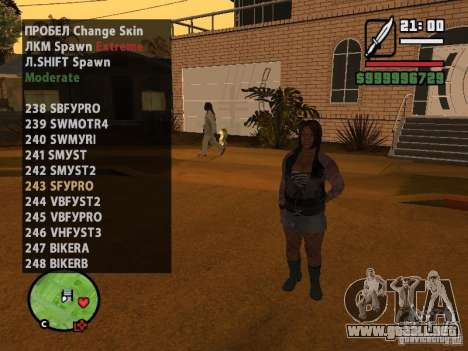 GTA IV peds to SA pack 100 peds para GTA San Andreas undécima de pantalla