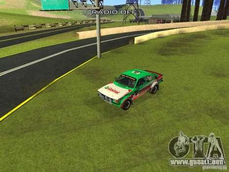 Opel Kadett para GTA San Andreas interior