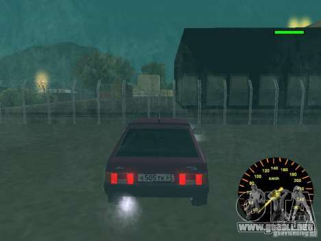 VAZ 2108 clásico para la visión correcta GTA San Andreas