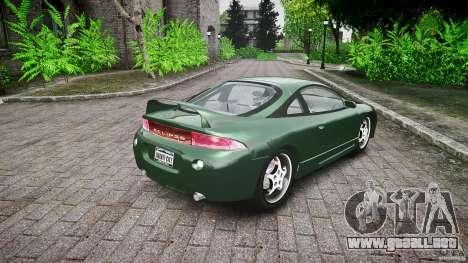 Mitsubishi Eclipse 1998 para GTA 4 vista superior