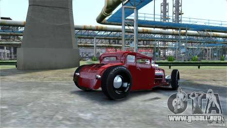 Smith 34 Hot-Rod Restyling para GTA 4 vista lateral