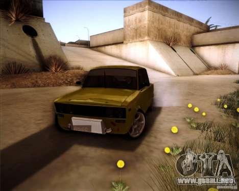 2106 VAZ deriva para vista lateral GTA San Andreas