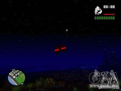 Cielo estrellado V 2.0 (un jugador) para GTA San Andreas quinta pantalla