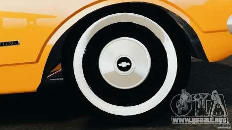 Chevrolet Opala Gran Luxo para GTA 4 vista desde abajo