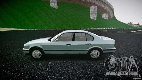 BMW 535i E34 para GTA 4 left