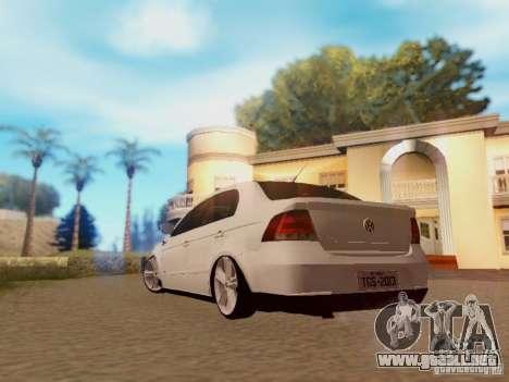 Volkswagen Voyage G5 Roda Passat CC para GTA San Andreas left