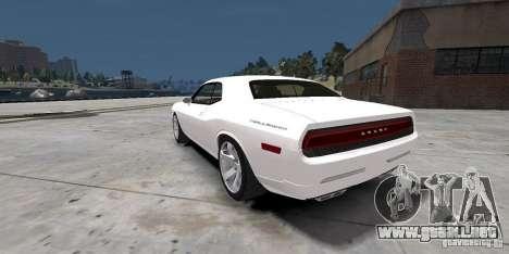 Dodge Challenger 2006 para GTA 4 left