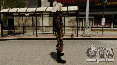 Geralt de Rivia v1 para GTA 4 segundos de pantalla