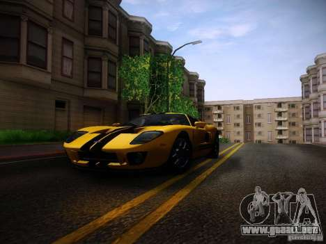 Ford GT para GTA San Andreas left