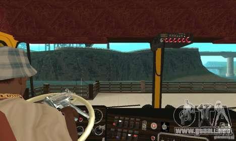 Kenworth K100C Aerodyne para la visión correcta GTA San Andreas