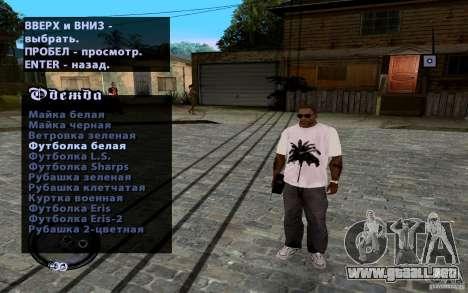Nuevo CJ para GTA San Andreas sucesivamente de pantalla