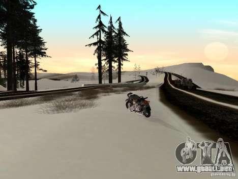 Invierno para GTA San Andreas séptima pantalla