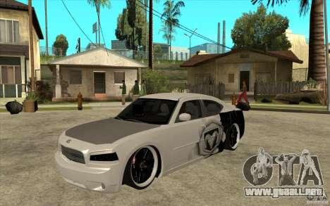 Dodge Charger SRT8 Tuning para GTA San Andreas