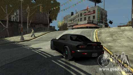 Mazda RX7 1995 Black [EPM] para GTA 4 left