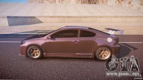 Toyota Scion TC 2.4 Tuning Edition para GTA 4 left