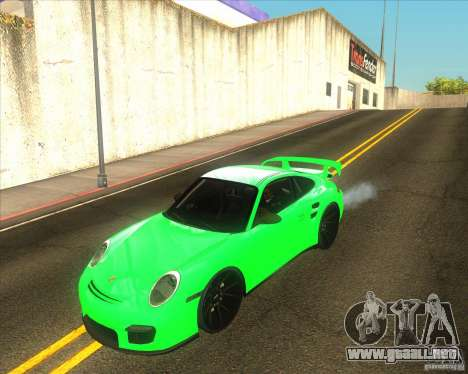 Porsche 911 GT2 (997) black edition para GTA San Andreas