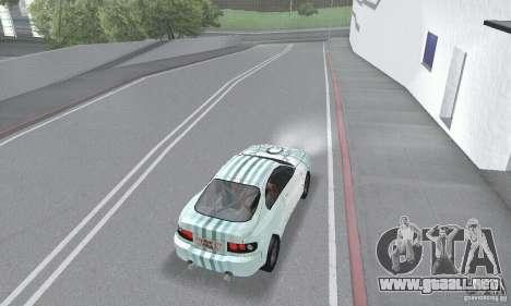 Toyota Celica GT4 2000 para la vista superior GTA San Andreas
