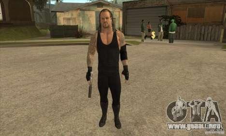 El empresario de pompas fúnebres de Smackdown 2 para GTA San Andreas