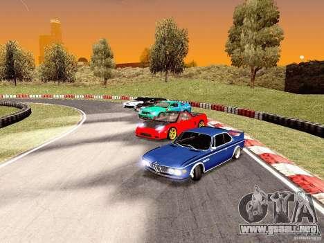 BMW 30 CSL Drift para visión interna GTA San Andreas