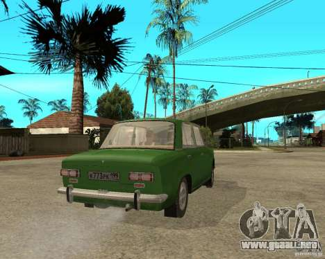 VAZ 2101 Kopek para GTA San Andreas vista posterior izquierda