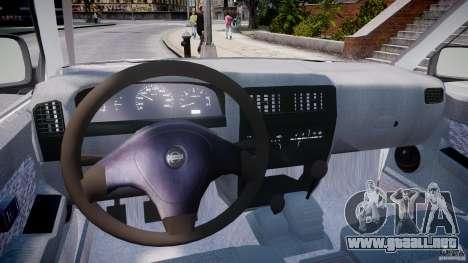 Nissan Frontier Essex Police Unit para GTA 4 visión correcta