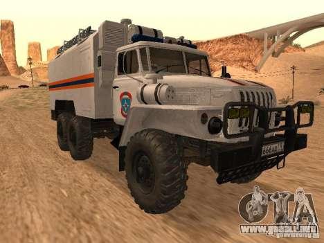 Ural 4320 MOE para GTA San Andreas