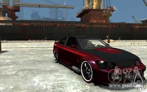 Sultan RS V2.5 para GTA 4 vista hacia atrás