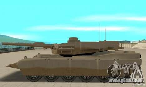 Nel cojo el tanque Rhino para GTA San Andreas left