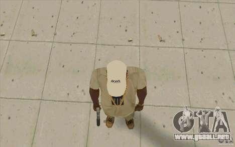 Jefe Cap white para GTA San Andreas tercera pantalla