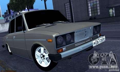 Hobo 2106 VAZ para GTA San Andreas left