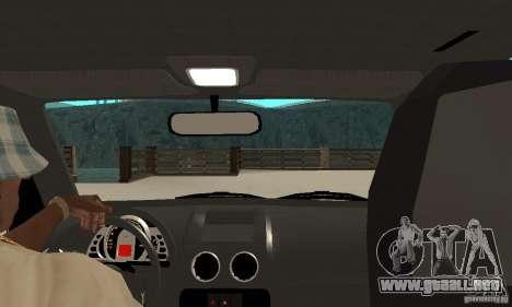 Volkswagen Gol G4 Taxi para la visión correcta GTA San Andreas