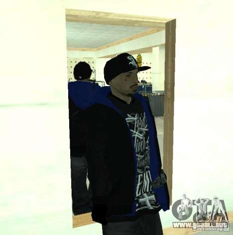 Vagos Gang Skins para GTA San Andreas octavo de pantalla