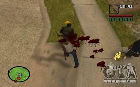 Bayoneta AKM para GTA San Andreas tercera pantalla