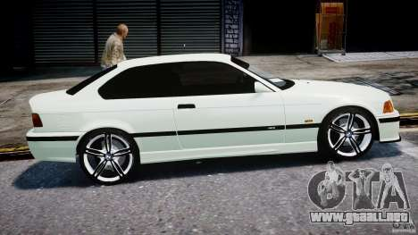 BMW e36 M3 para GTA 4 vista interior