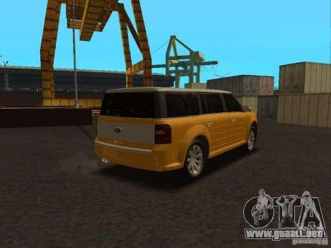 Ford Flex para GTA San Andreas left