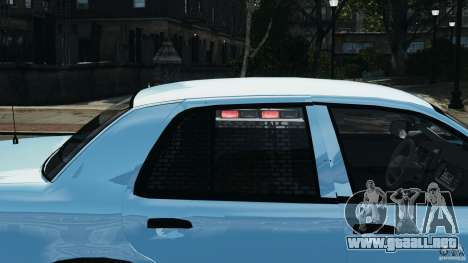 Ford Crown Victoria Police Unit [ELS] para GTA 4 ruedas