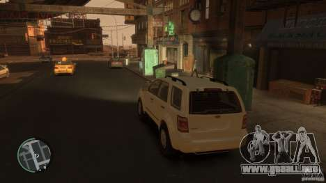 Ford Escape 2011 para GTA 4 left