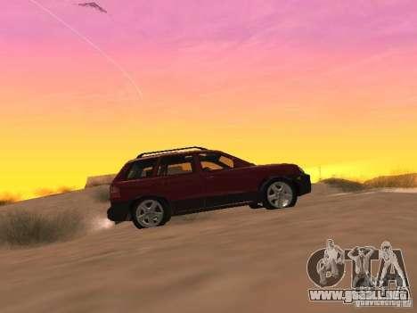 Hyundai Santa Fe Classic para GTA San Andreas left