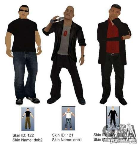 New Yakuza para GTA San Andreas
