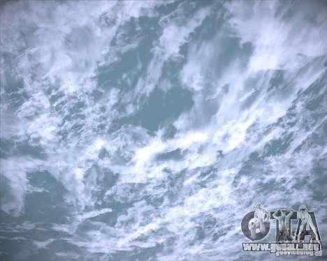 Real Clouds HD para GTA San Andreas décimo de pantalla
