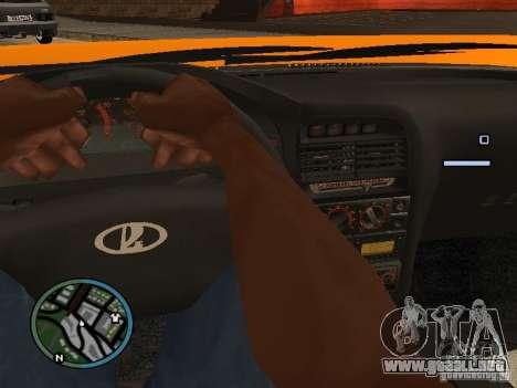 Lada Priora DagStailing para GTA San Andreas left