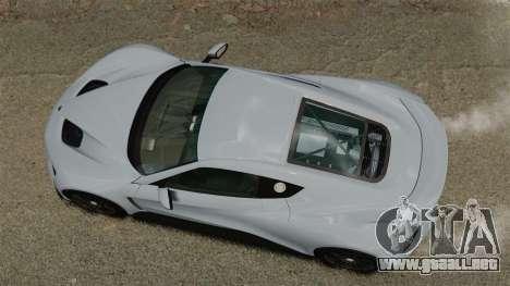 Zenvo ST1 para GTA 4 visión correcta