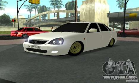 Lada Priora Luks para GTA San Andreas