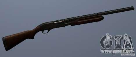 Remington 870AE para GTA San Andreas sucesivamente de pantalla
