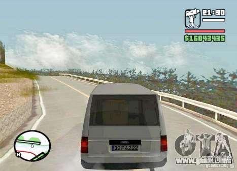 Ford Transit 1999 para GTA San Andreas left